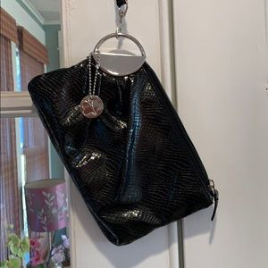 Handbags - Black faux leather wristlet